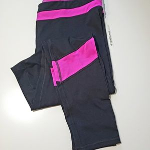 CHAMPION DUO DRY BLACK MAGENTA ACTIVE PANTS XXL